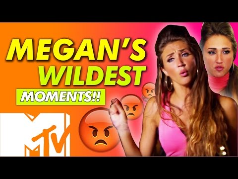 EX ON THE BEACH SEASON 3 | MEGAN MCKENNA WILDEST MOMENTS | MTV
