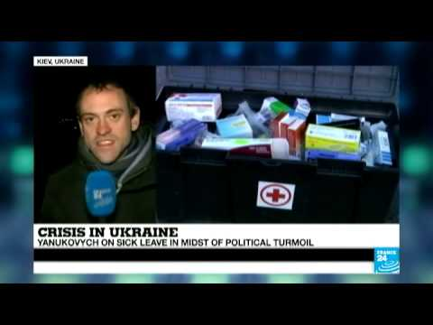 Ukraine: President Yanukovych on sick leave in midst of political crisis