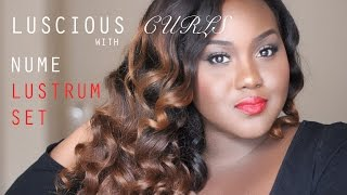 Luscious Curls with the Nume Lustrum Set and Final Review for Wow African Hair Thumbnail