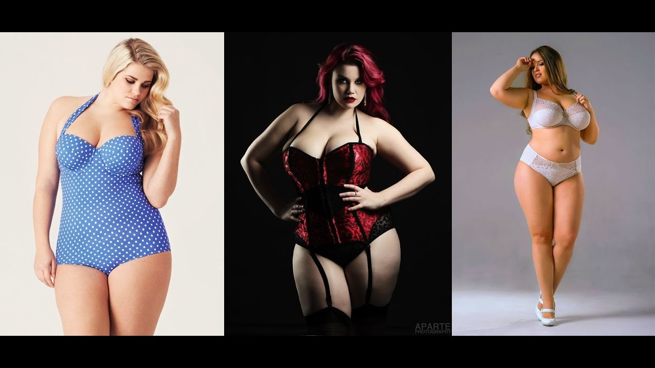 Something Hot plus size lingerie models talented message