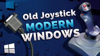 Get Your Old Gameport Joystick Working with Windows 10 | Install Retro Joystick on Windows 7 8 PC