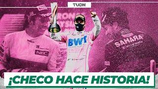 ¡Orgullo Mexicano! Checo Pérez consigue segundo lugar y el mundo se rinde a sus pies I TUDN