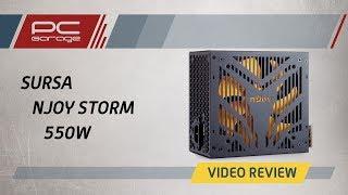 Скачать PC Garage Video Review Sursa NJoy Storm 550 80 550W