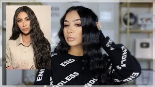 HOW TO CRIMP YOUR HAIR || KIM KARDASHIAN INSPIRED