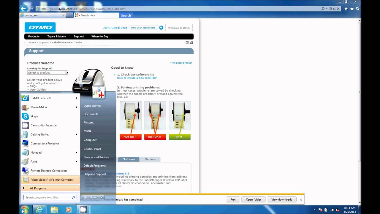 Dymo labelwriter software review – labelzone blog – dymo 450 label.