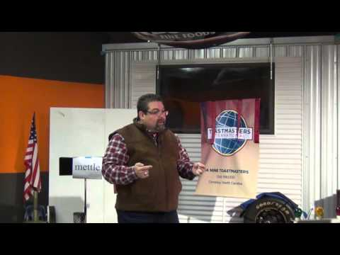 Toastmaster Speech - Pastor Carlos Velez - Successful Clubs