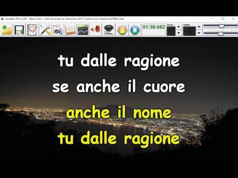 Paola Turci - Fatti bella per te (Sanremo 2017) (Syncro by CrazyHorse1965) Karabox - Karaoke