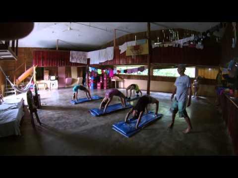 Costa Rica 2014   Gymnastics and Fitness Class