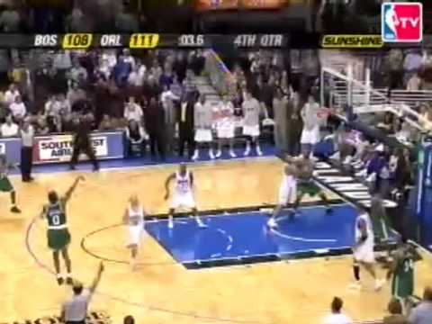 Walter McCarty forces overtime against Orlando