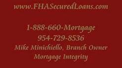 FHA Secure Loan Mortgage Programs