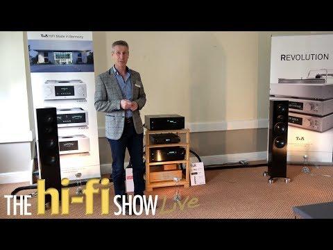 TA Speakers Electronics Entreq Tellurium Q Melco Shunyata Kog  @ HiFi  Live 2017