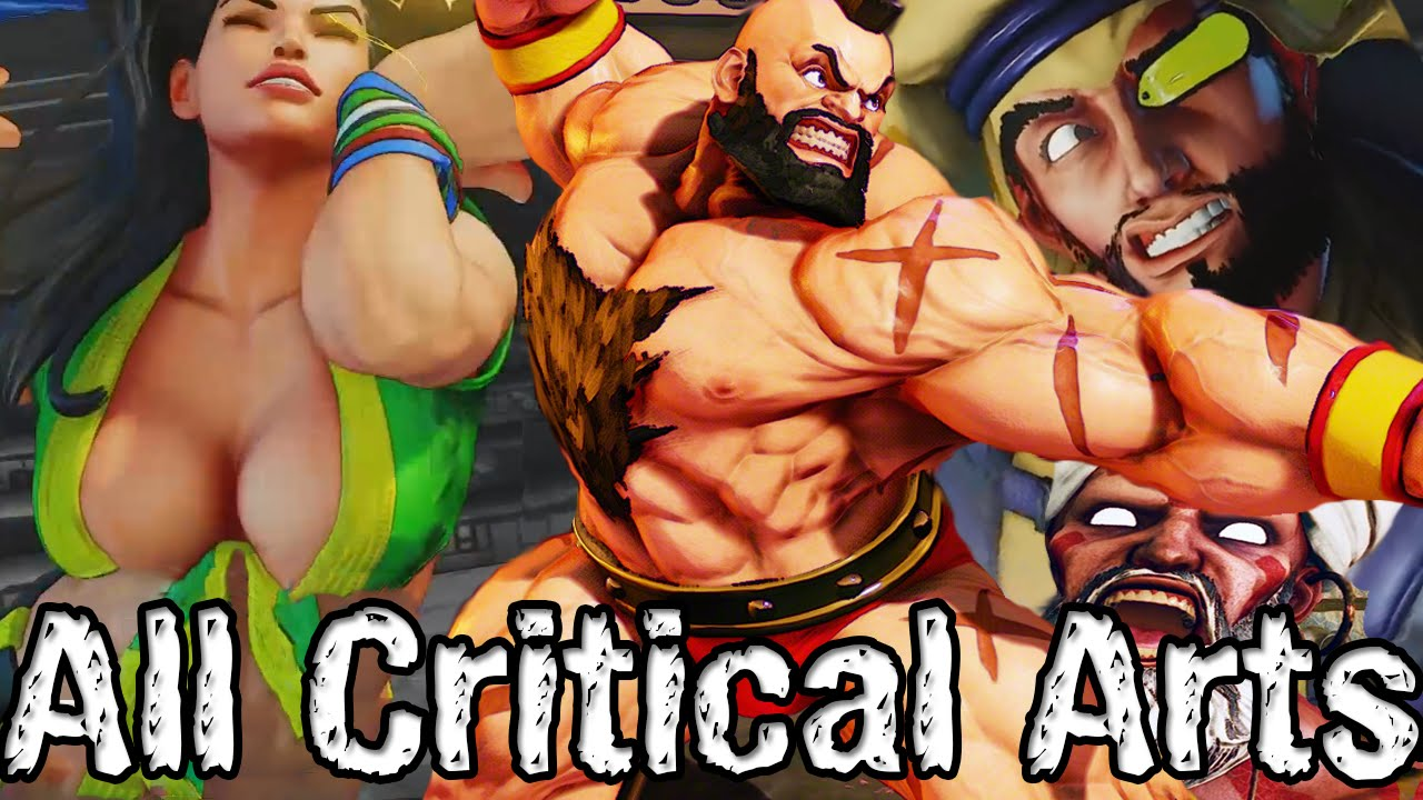Street Fighter 5 All Critical Arts So Far V 3 Ultra Style