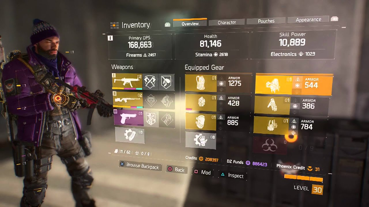 The Division Meilleur Build Tank