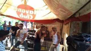 Charanga Habanera ft El Yonky Ensayo en el Fanguito 26 de julio 2012