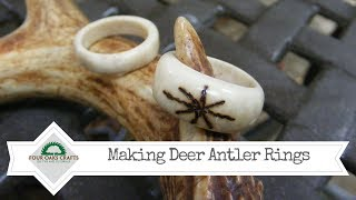 How to Make Antler Rings
