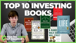 Top 10 Investing & Personal Finance Books | The BEST Investing Books