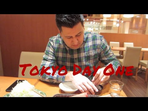 Tokyo Day 1: Our flight, park hyatt hotel room tour, and more!