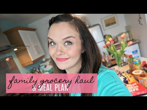 TESCO & ALDI GROCERY HAUL - FAMILY FOOD SHOP & MEAL PLAN