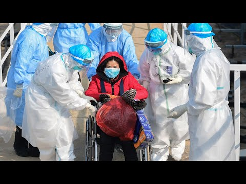 Coronavirus: First patients transferred to new Wuhan hospital