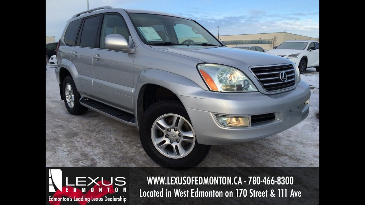 Used Silver 2006 Lexus GX 470 SUV Review | Edson Alberta - YouTube
