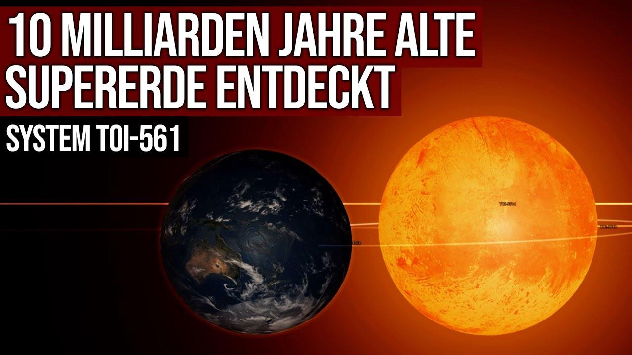 10 Milliarden Jahre alte Supererde entdeckt - System TOI-561
