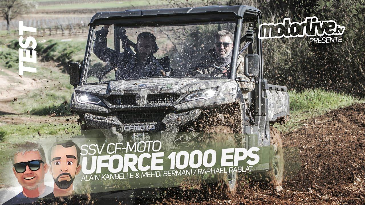 Download SSV CFMOTO UFORCE 1000 EPS | TEST MOTORLIVE