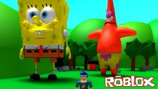 SpongeBob WENT GIANT sur ROBLOX