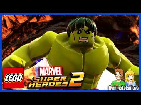 Lego Marvel 2 Free Roam Adventures Part 18 Hulk Old West Party