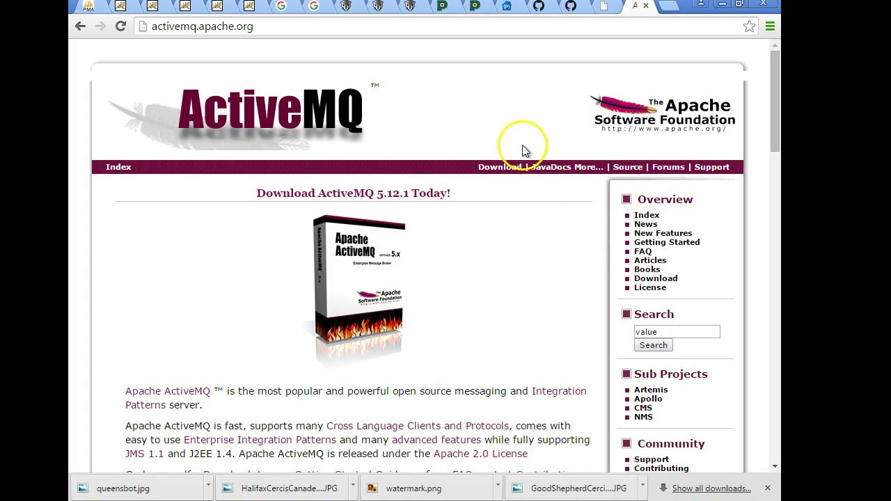 Installing ActiveMQ as a Service in Windows