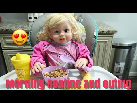 Reborn Toddler Morning Routine And Outing To The Park