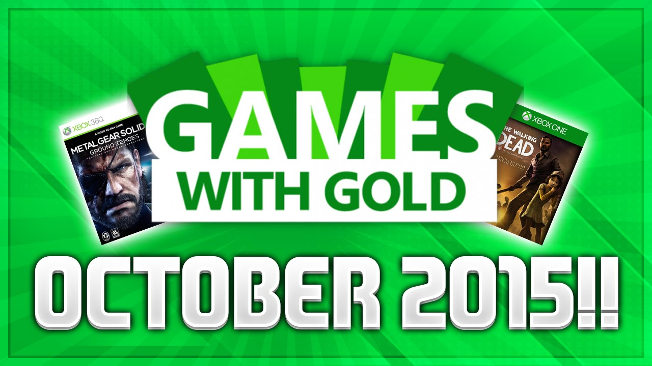 Official Xbox Live Games With Gold October 2015 Lineup