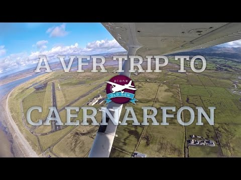 A VFR Flight To Caernarfon | ATC Audio