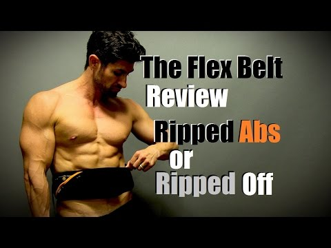 Ripped Abs or Ripped Off | The FLEX BELT Review