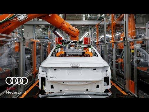 Voorbode van de nieuwe Audi A8: Space Frame met een unieke combinatie van materialen