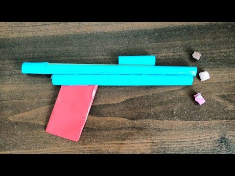 How to make paper weapons that hurts easy for kids toy
