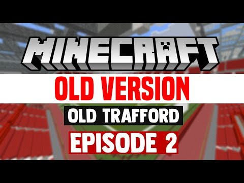 Minecraft Stadium Builds: Old Trafford [2] Pitchside