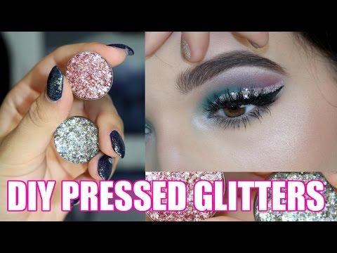 DIY Pressed Glitters | Glitter Injections DUPE | Jordan Byers
