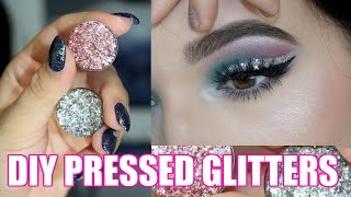 DIY Pressed Glitters | Glitter Injections DUPE | Jordan Byers