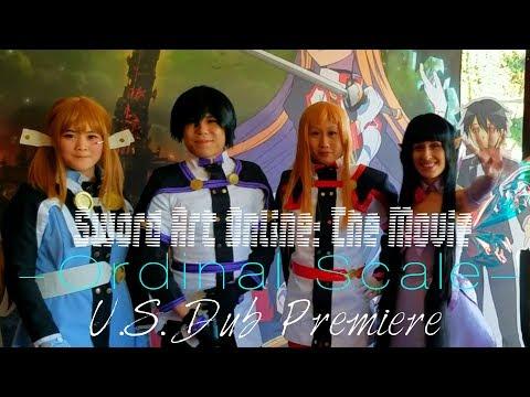 ⚔ Sword Art Online: The Movie - Ordinal Scale 🎮 U.S. Dub Premiere ⚔