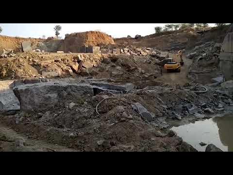 Blasting in granite quarry Mining Engineer