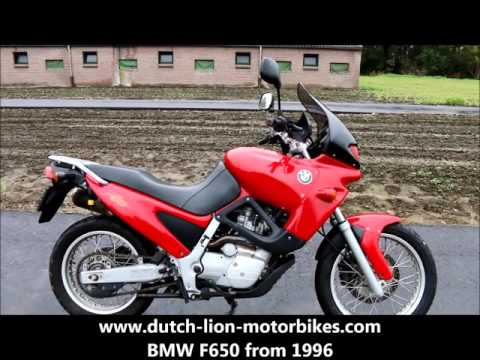BMW F650 from 1996