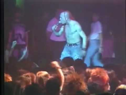 The Exploited - Sex And Violence ,  Live @ Japan 1991.