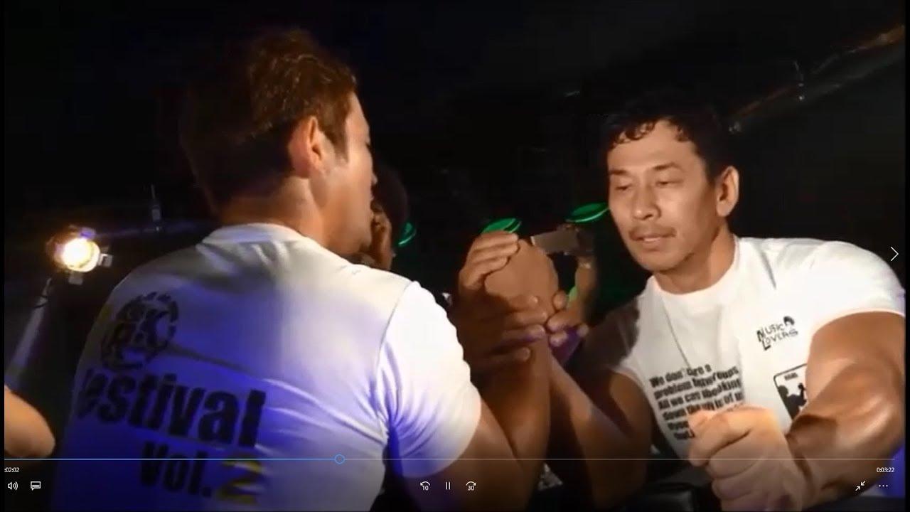 近藤 アーム レスリング