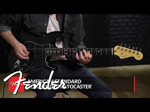 10 For 15 American Standard Blackout Stratocaster Demo | Fender