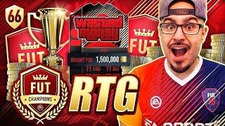 OMG INSANE PURCHASE 92 MALDINI! FIFA 18 Ultimate Team Road To Fut Champions #66 RTG