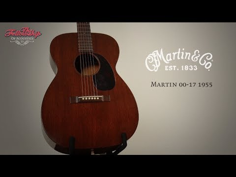 The Fellowship of Acoustics - Martin 00-17 1955