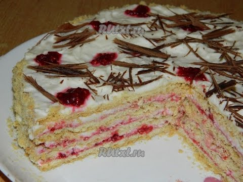 Песочный торт  Пошаговый рецепт с фото