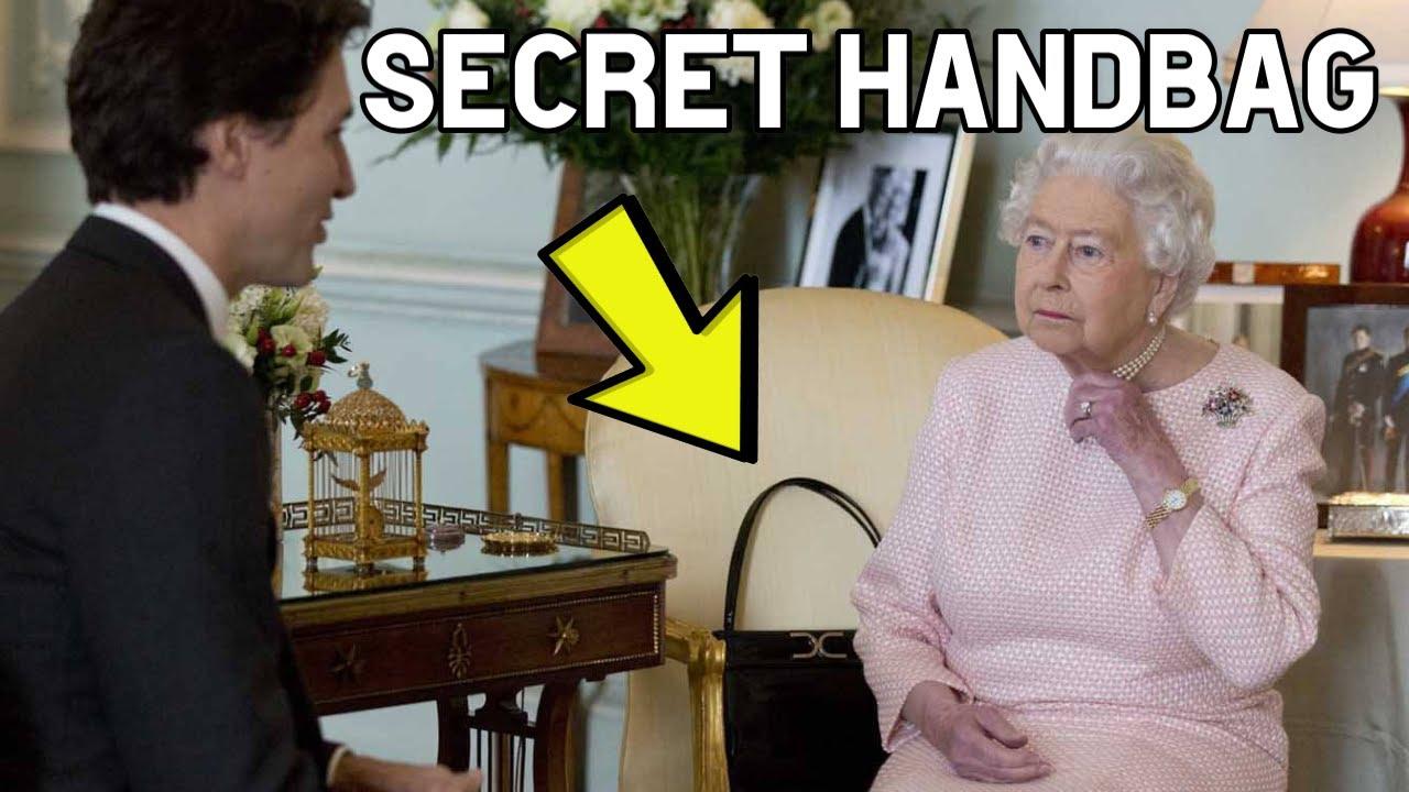 Download The Queen's Secret Signals to Her Staff Using Her Handbag Explained!