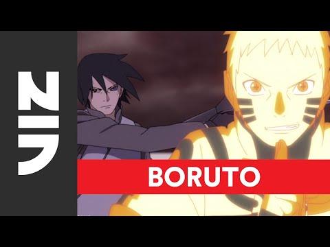 Naruto and Sasuke vs. Momoshiki (English Dub) | Boruto: Naruto Next Generations, Set 5 | VIZ