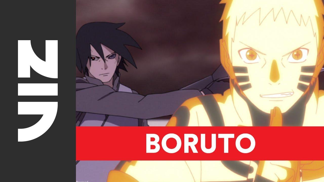 Naruto And Sasuke Vs Momoshiki English Dub Boruto Naruto Next Generations Set 5 Viz Youtube